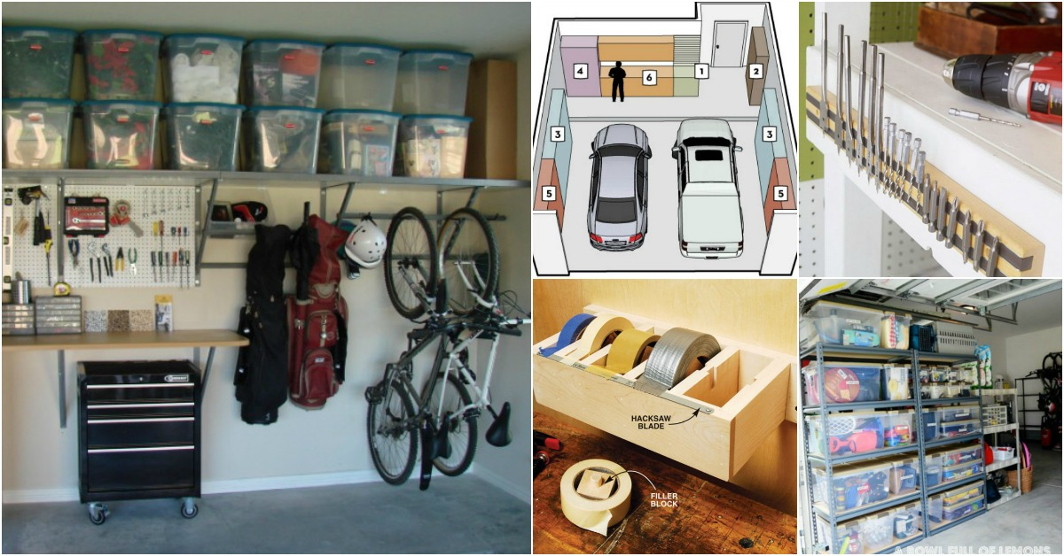 Garage Organization Ideas Diy