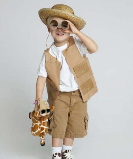 Safari Guide - 60 Fun and Easy DIY Halloween Costumes Your Kids Will Love