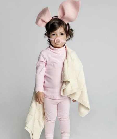Pig in a Blanket - 60 Fun and Easy DIY Halloween Costumes Your Kids Will Love