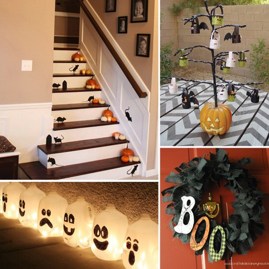 Spooky Interior - 40 Easy to Make DIY Halloween Decor Ideas
