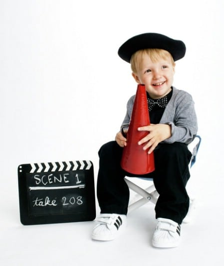 Director - 60 Fun and Easy DIY Halloween Costumes Your Kids Will Love