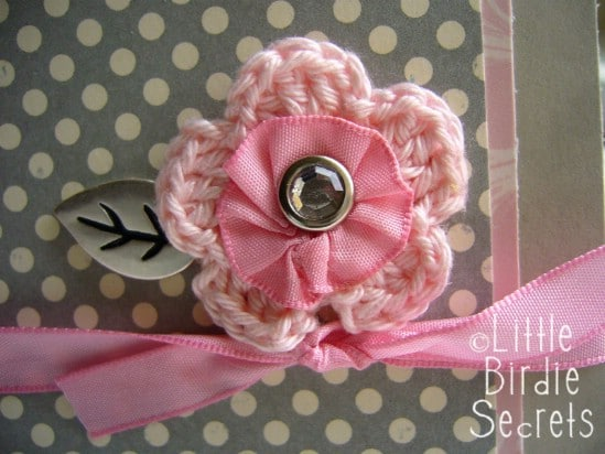 Flower Bow - 30 Fabulous and Easy to Make DIY Hair Bows