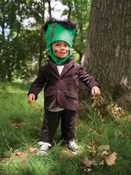 Frankenstein - 60 Fun and Easy DIY Halloween Costumes Your Kids Will Love