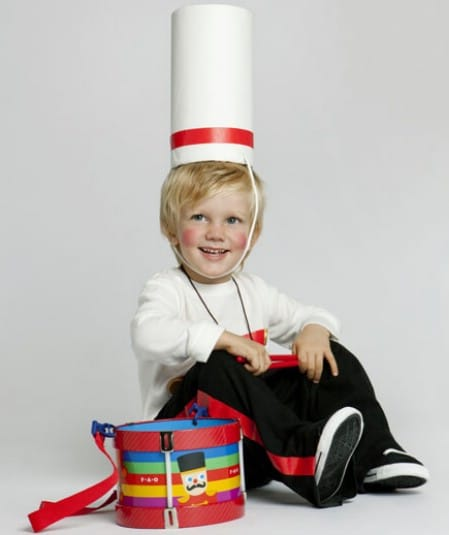 Little Drummer Boy - 60 Fun and Easy DIY Halloween Costumes Your Kids Will Love