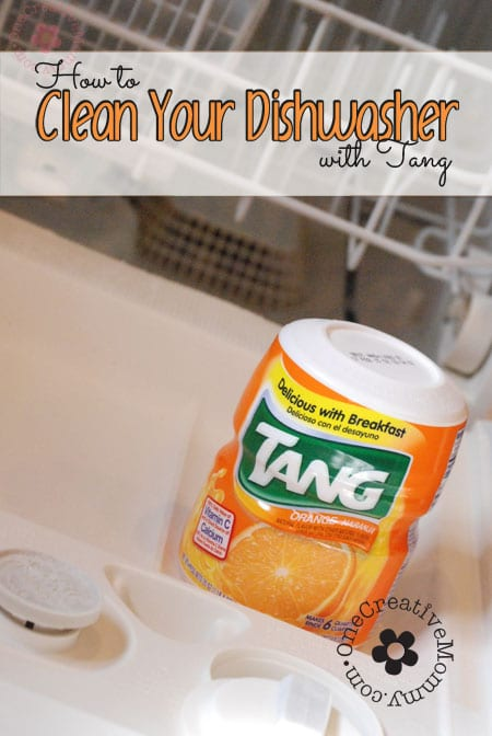 Clean your dishwasher with Tang