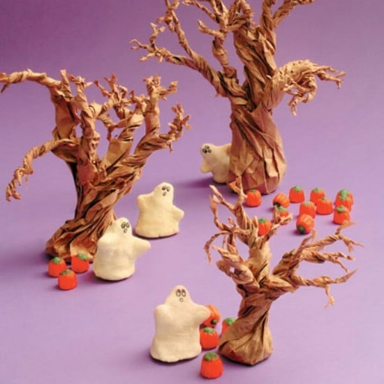 Salt Dough Ghosts - 40 Easy to Make DIY Halloween Decor Ideas