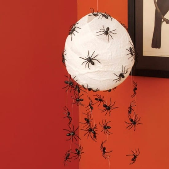 Scary Spider Hatchlings - 40 Easy to Make DIY Halloween Decor Ideas