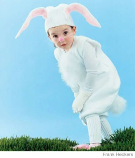 White Rabbit - 60 Fun and Easy DIY Halloween Costumes Your Kids Will Love
