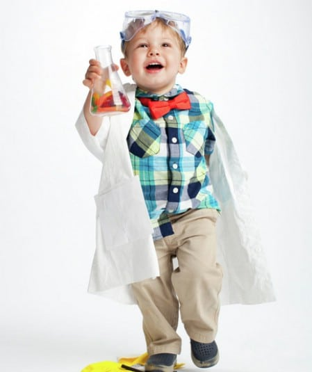 Mad Scientist - 60 Fun and Easy DIY Halloween Costumes Your Kids Will Love