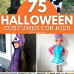 Halloween costumes for kids collage