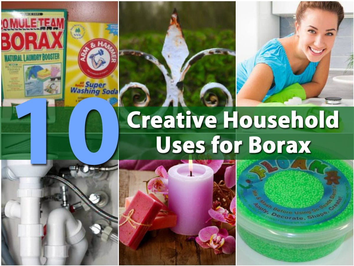 Top 10 Most Creative Household Uses for Borax - DIY & Crafts
