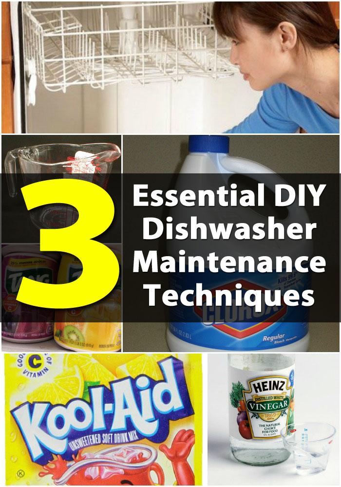 Top 3 Essential DIY Dishwasher Maintenance Techniques