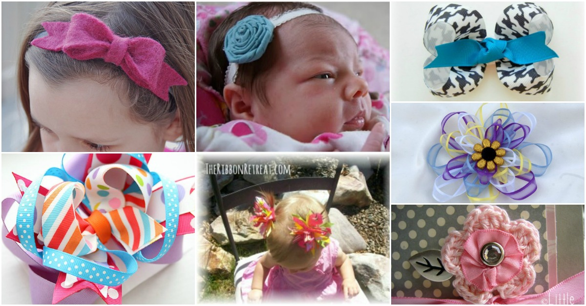30 Fabulous And Easy To Make Diy Hair Bows Diy Crafts