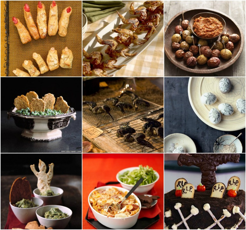 36 Halloween Recipes from Martha Stewart
