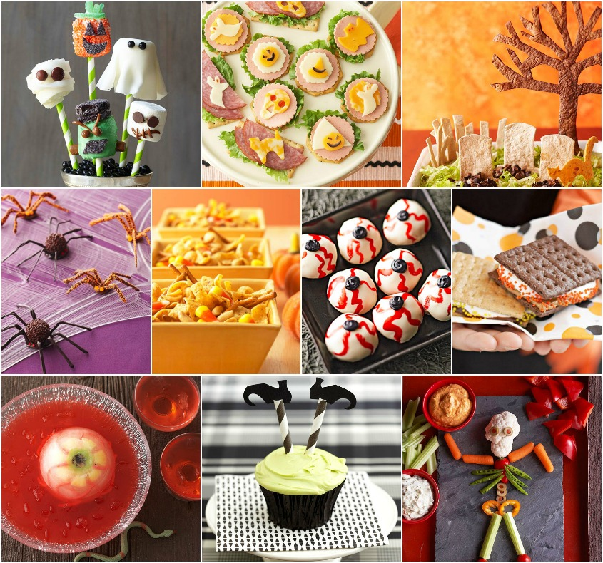 24 Quick Halloween Party Food