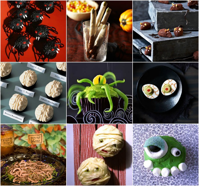14 Gross Looking Halloween Recipes