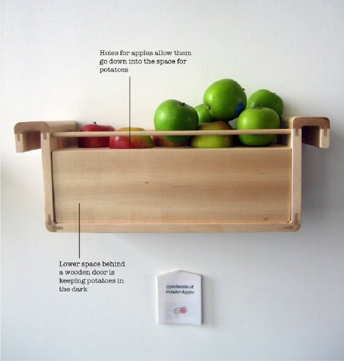Store an Apple with Potatoes - 40 DIY Tricks To Make Your Groceries Last As Long As Possible