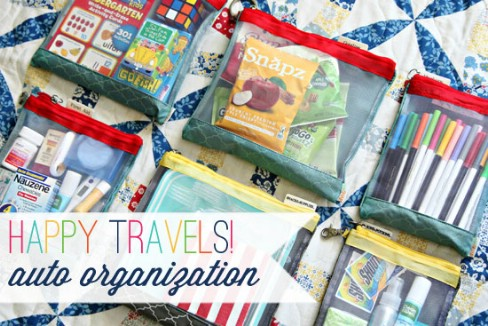 Make Travel Kits - 20 Easy DIY Ideas and Tips for a Perfectly Organized Car