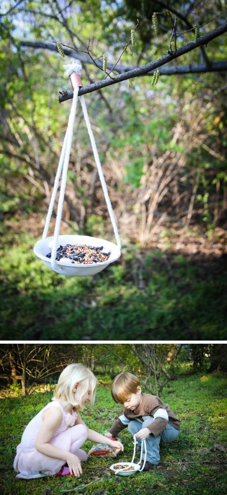 Clay Feeder - 23 DIY Birdfeeders That Will Fill Your Garden With Birds