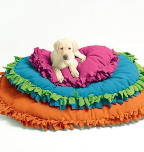 DIY Pet Bed - 30 Extremely Creative No-Sew DIY Projects
