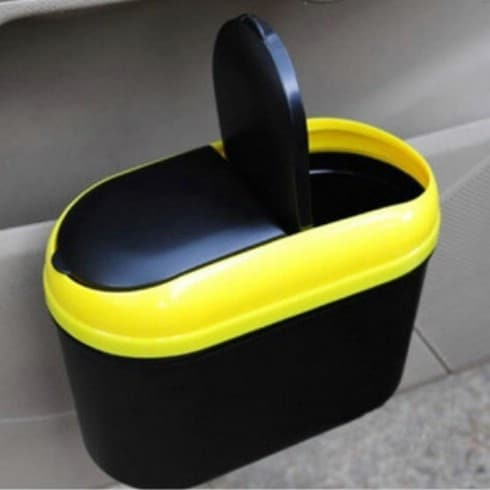 Cereal Keeper Trash Can - 20 Easy DIY Ideas and Tips for a Perfectly Organized Car