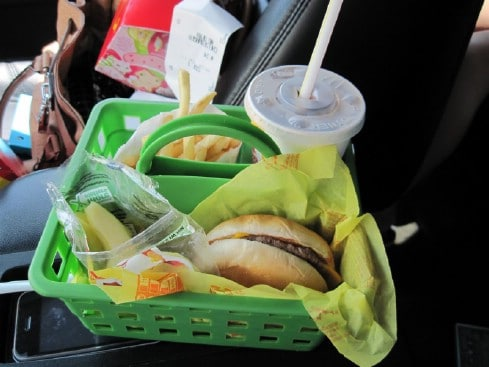 Arts and Crafts Organizers Hold Food - 20 Easy DIY Ideas and Tips for a Perfectly Organized Car