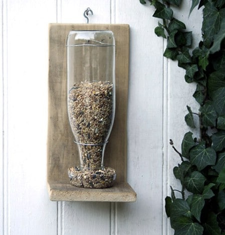 Open Bar Feeder - 23 DIY Birdfeeders That Will Fill Your Garden With Birds