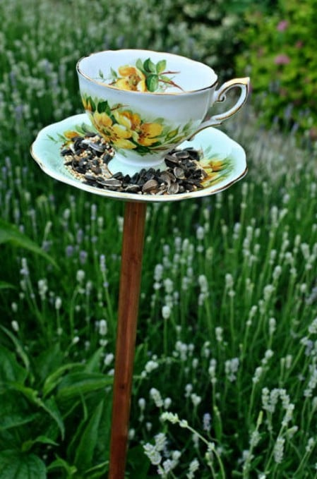 Outdoor Wedding Décor Feeders - 23 DIY Birdfeeders That Will Fill Your Garden With Birds