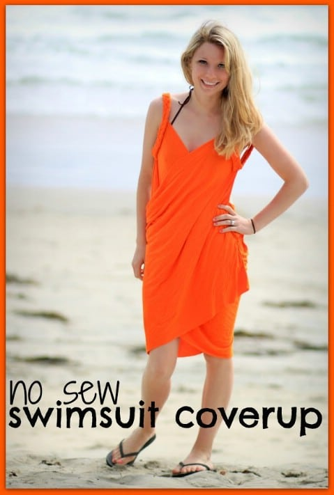 Braided Swimsuit Coverup - 30 Extremely Creative No-Sew DIY Projects