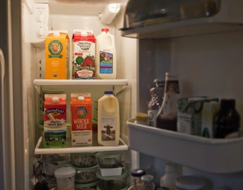 Store Milk in the Middle - 40 DIY Tricks To Make Your Groceries Last As Long As Possible