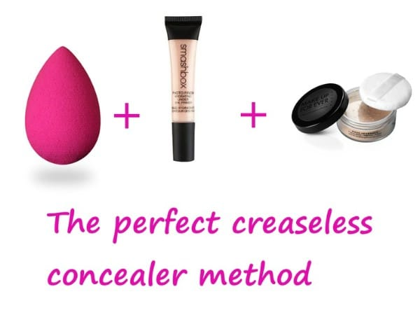 Keep Under Eye Concealer from Creasing - 40 DIY Beauty Hacks That Are Borderline Genius
