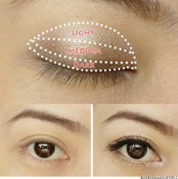 Apply Eye Makeup Like a Pro - 40 DIY Beauty Hacks That Are Borderline Genius