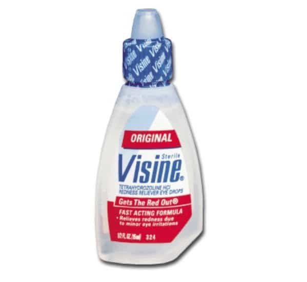 Use Visine to Tone Down Pimples - 40 DIY Beauty Hacks That Are Borderline Genius