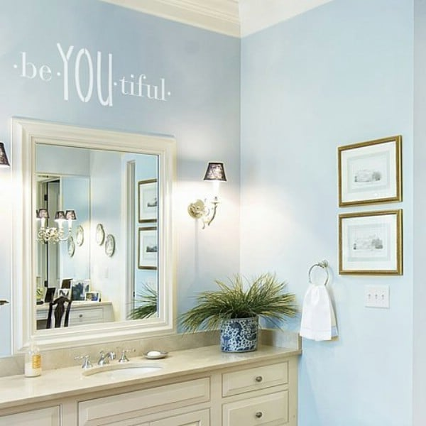 11 DIY Wall Quote Accent Inspirations That Will Beautify Your Home - BeYOUtiful