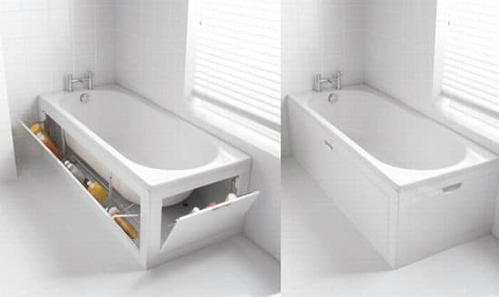 Bathtub Hidden Storage - 15 Secret Hiding Places That Will Fool Even the Smartest Burglar