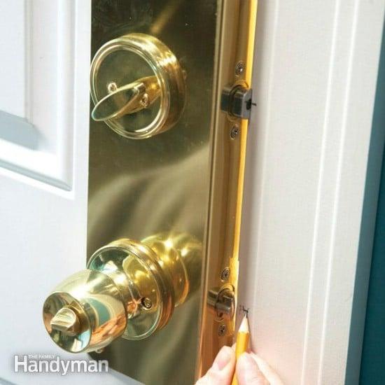 Reinforce Door Jambs - 20 Easy and Effective DIY Tricks to Keep Your Home Safe