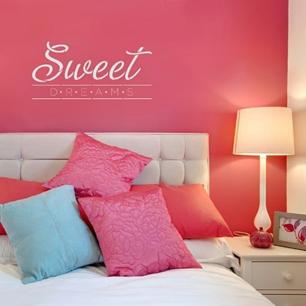 11 DIY Wall Quote Accent Inspirations That Will Beautify Your Home - Sweet Dreams