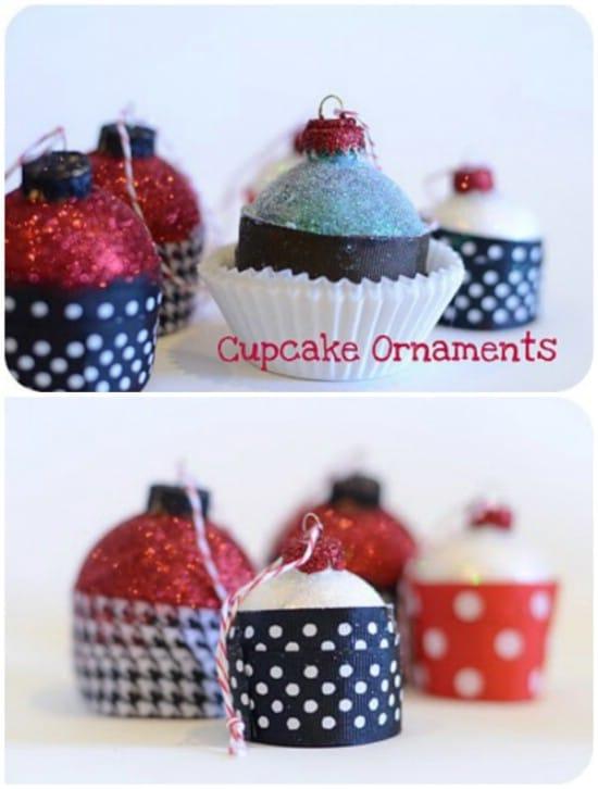 Delicious Cupcake Ornaments