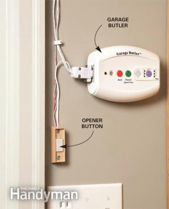 Close the Garage Door - 20 Easy and Effective DIY Tricks to Keep Your Home Safe