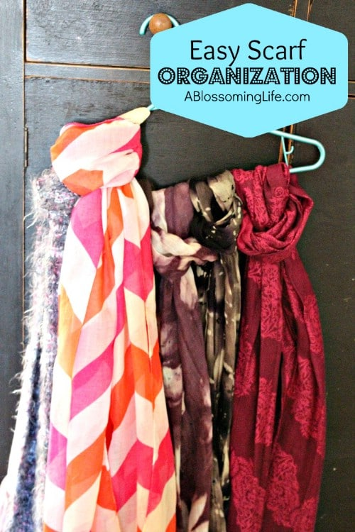 Scarf and Belt Organizer - 20 Creative Ways to Organize and Decorate with Hangers