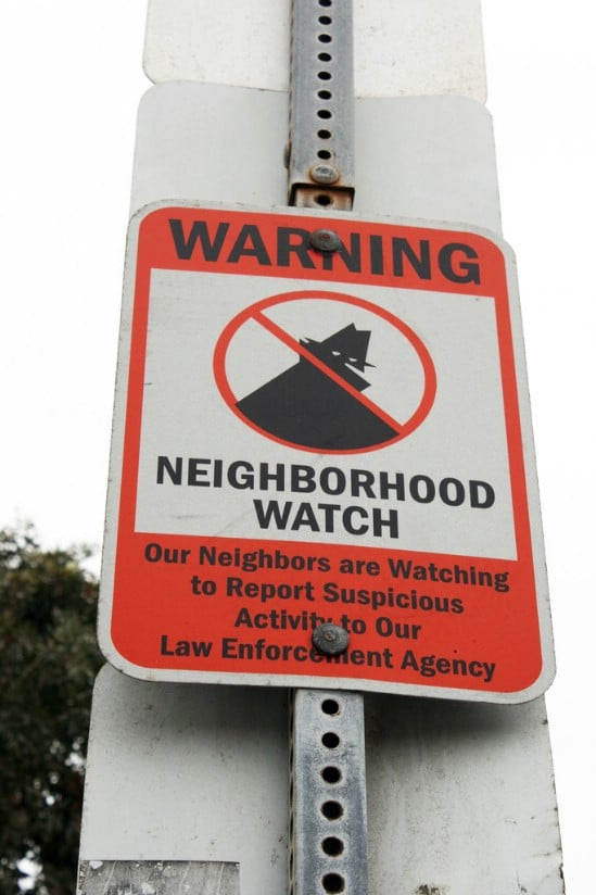 Set Up a Neighborhood Watch - 20 Easy and Effective DIY Tricks to Keep Your Home Safe
