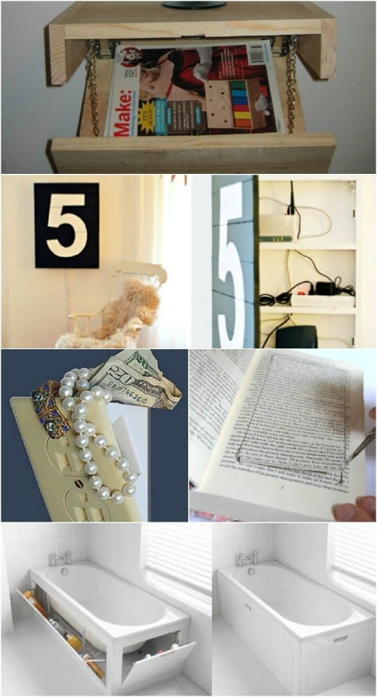 Build a Hiding Place for Valuables - 20 Easy and Effective DIY Tricks to Keep Your Home Safe