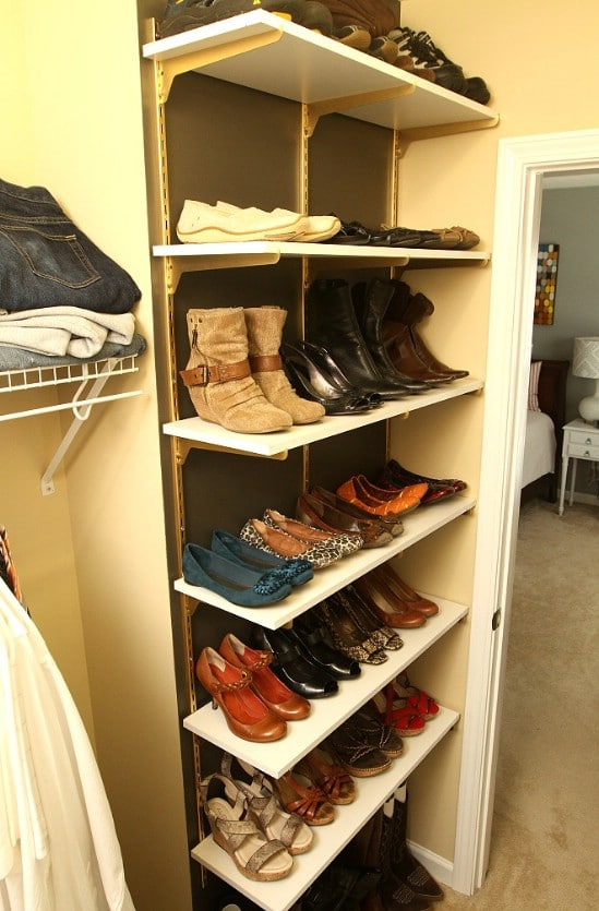 Turn Shelves Into Organizers