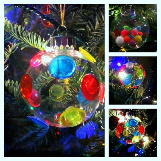 Colorful Glass Ornaments