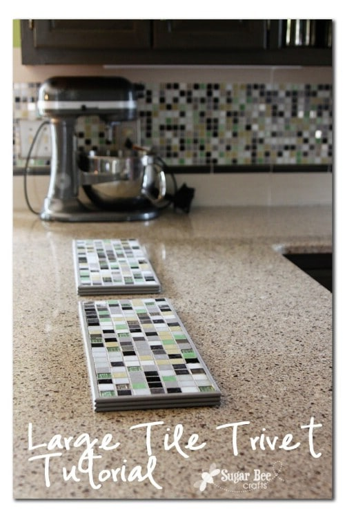 Make a Tile Trivet - 20 of the Most Adorable DIY Kitchen Projects You've Ever Seen