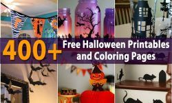 400+ Free Halloween Printables and Coloring Pages