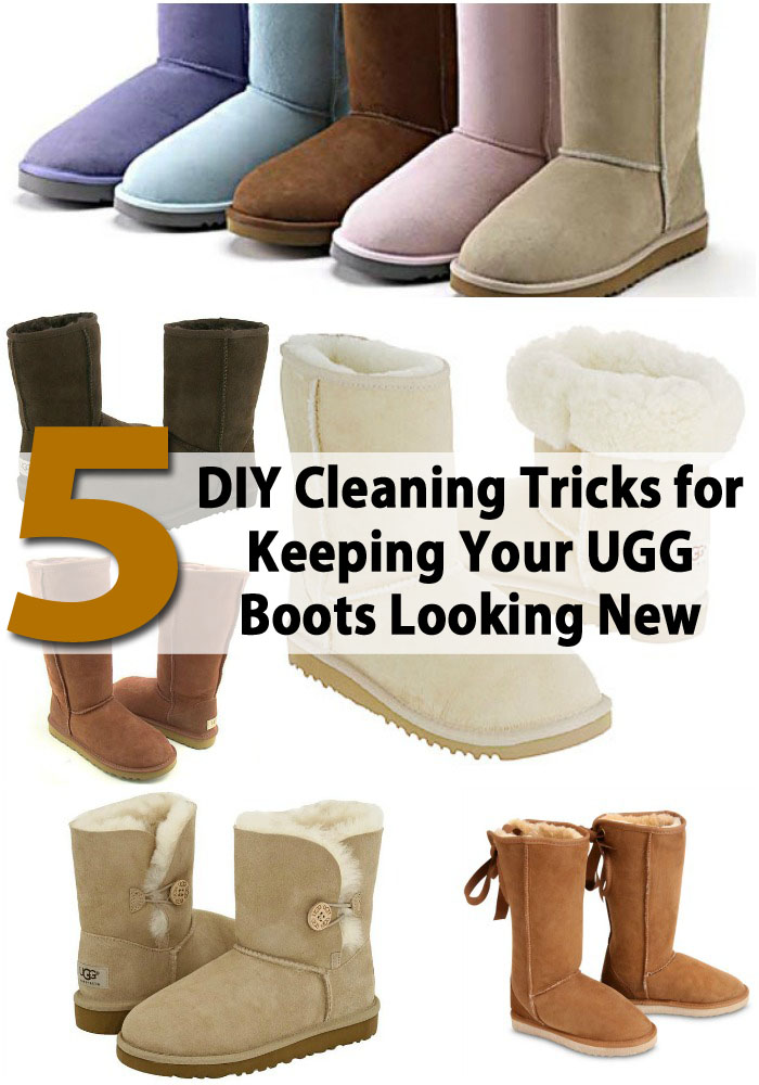d8ebc8a9fb7 8 DIY Cleaning Tricks for Keeping Your UGG Boots Looking New - DIY ...