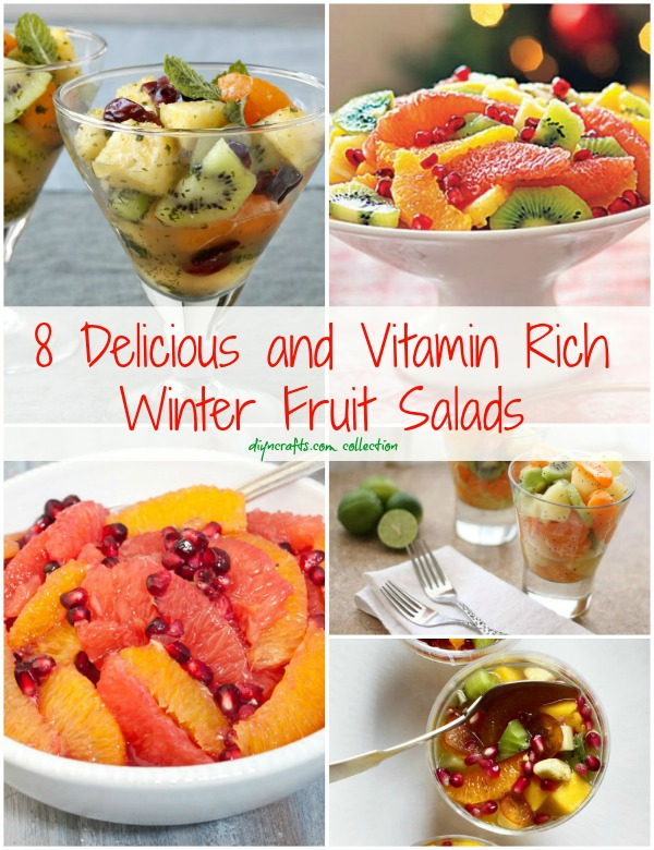 8 Delicious and Vitamin Rich Winter Fruit Salads