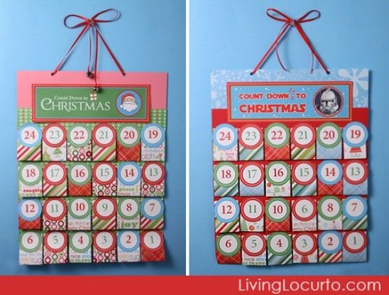 Advent Calendar - Over 50 Creative Christmas Printables Collection