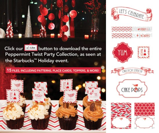 Peppermint Twist Printables - Over 50 Creative Christmas Printables Collection